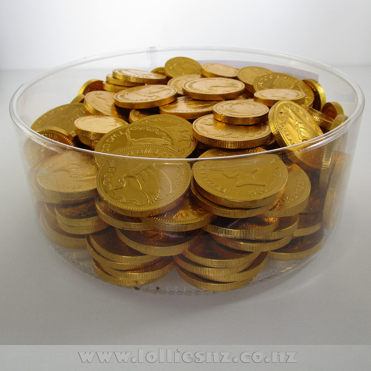 how to make chocolate coins